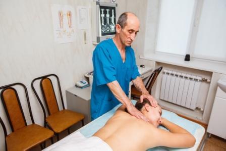 массаж остеохондроз шейного отдела